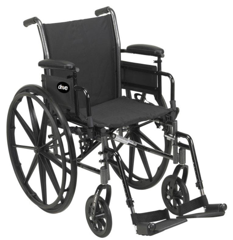 ● drive medical cruiser iii light weight wheelchair