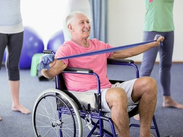 Best exercises for wheelchair users