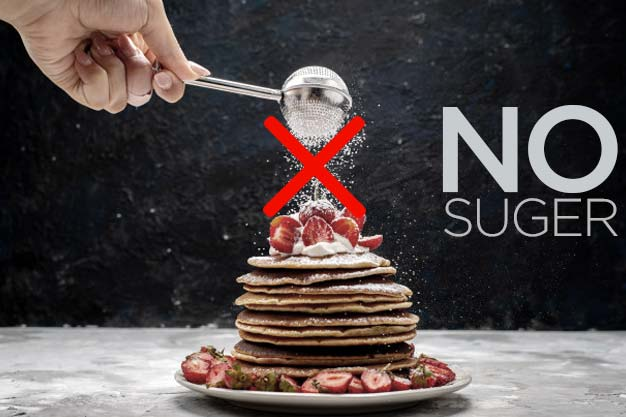 get rid of belly fat - No Suger